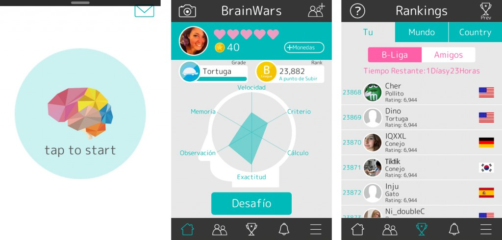 Brain Wars app review