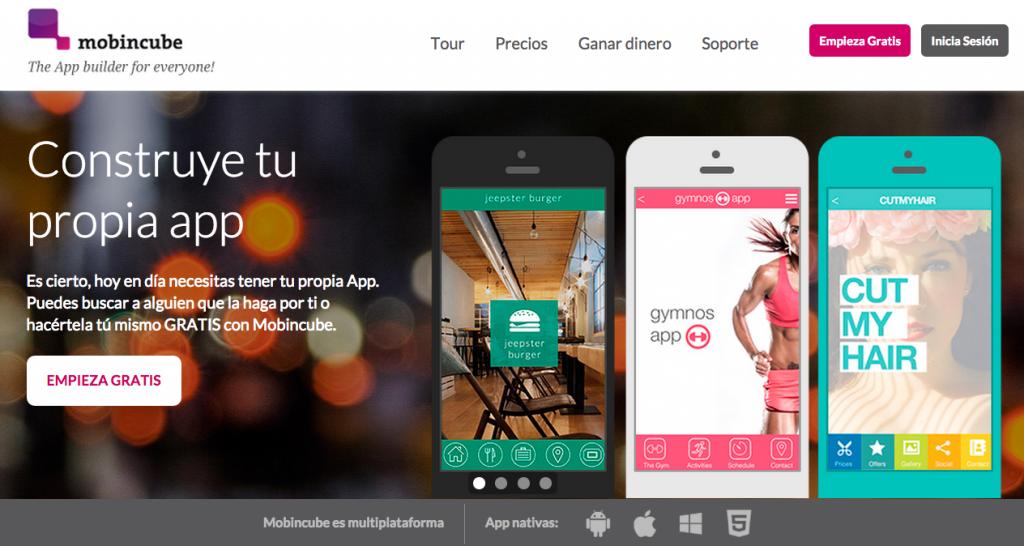 Mobincube - Herramientas DIY para crear apps