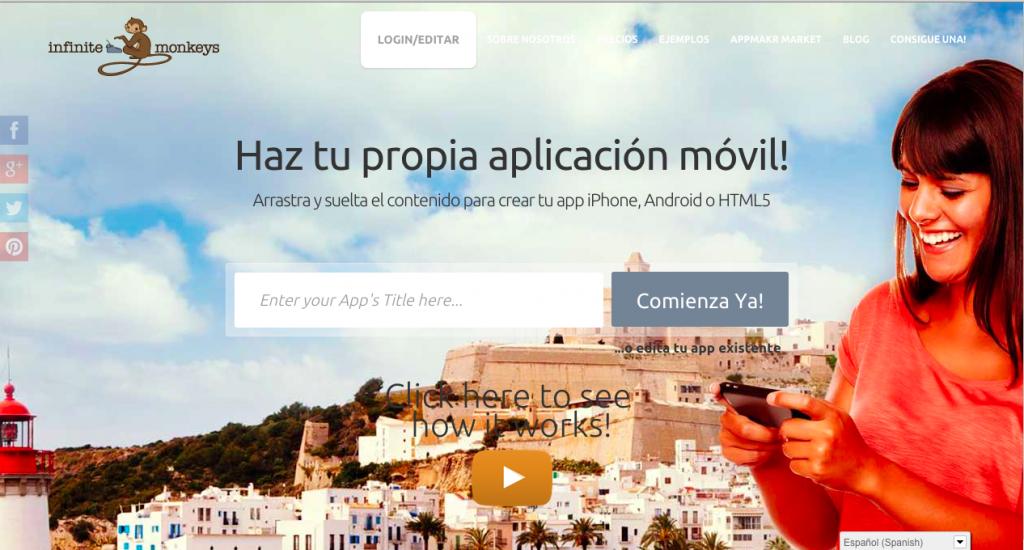 Infiite Monkey - Herramientas DIY para crear apps