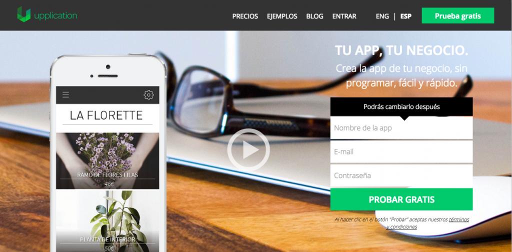 Upplication - Herramientas DIY para crear apps