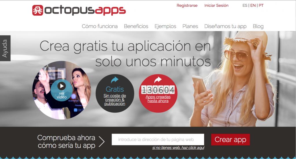 Octopus apps - Herramientas DIY para crear apps