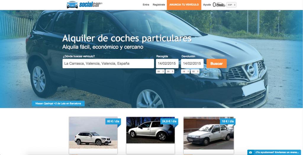 socialcar web