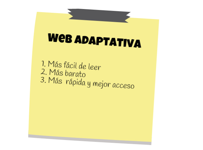 web adaptativa