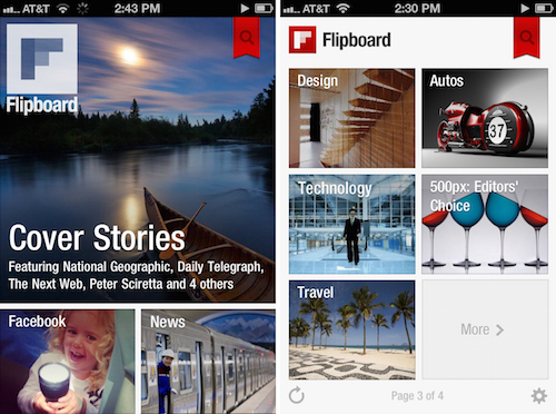 flipboard para content curation
