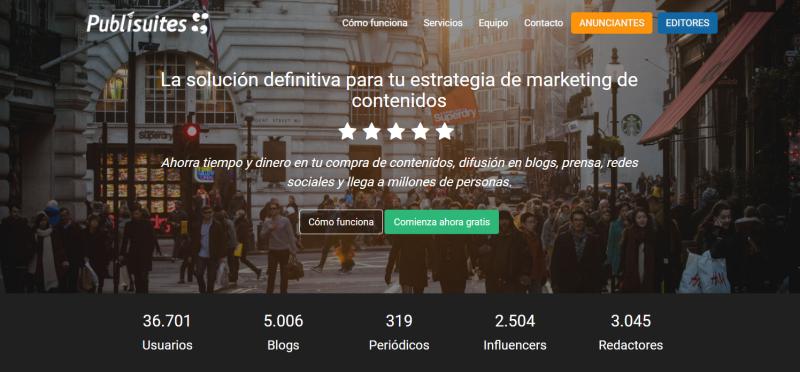 como ganar dinero con tu blog-Publisuites