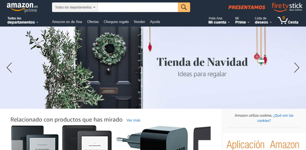 Marketing en Navidad en Amazon