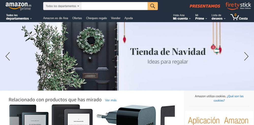 Marketing en Navidad en Amazon