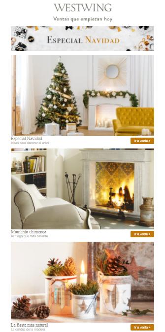 hacer mailing - marketing en navidad