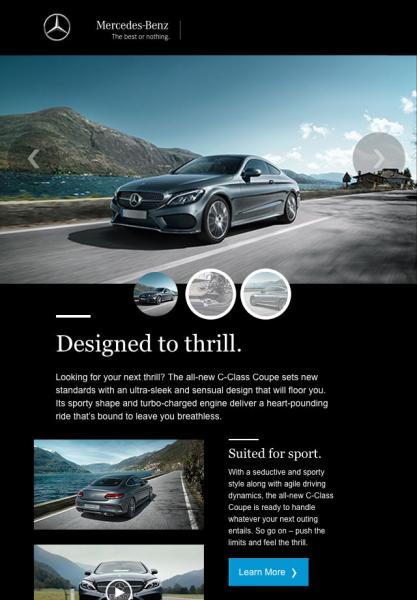 Diseño de emails - BMW